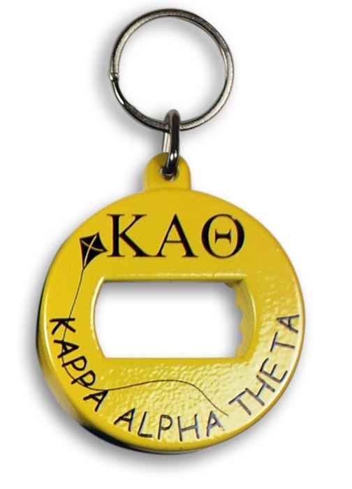 Kappa Alpha Theta BevKey Key Chain from GreekGear.com