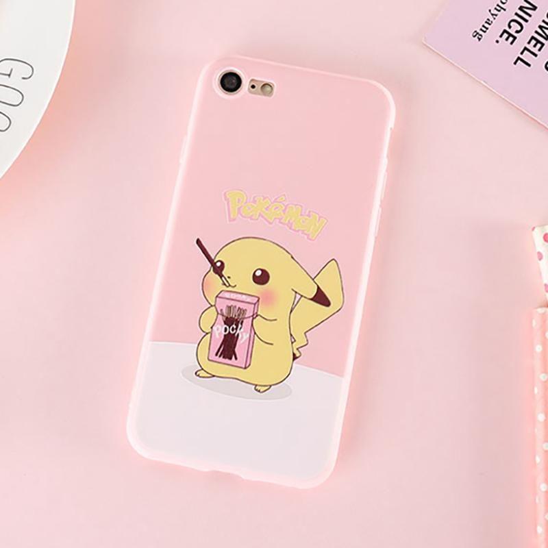 Pink Kawaii Pokemon Pikachu Iphone Case Pokemon phone