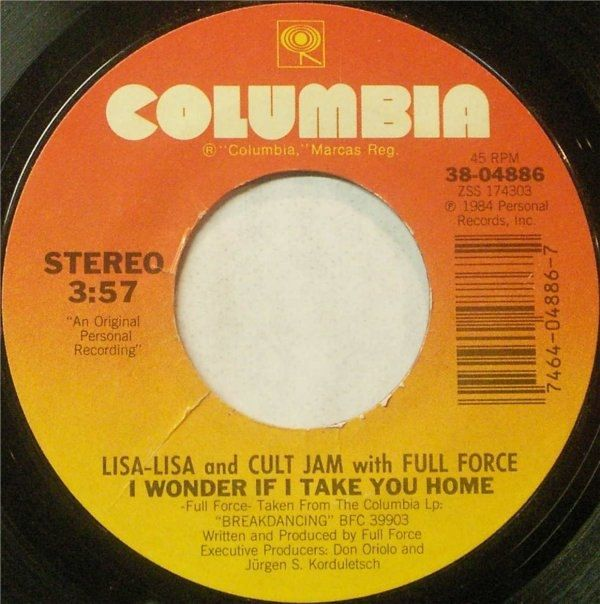 Lisa Lisa And Cult Jam with Full Force  I Wonder If I Take You Home