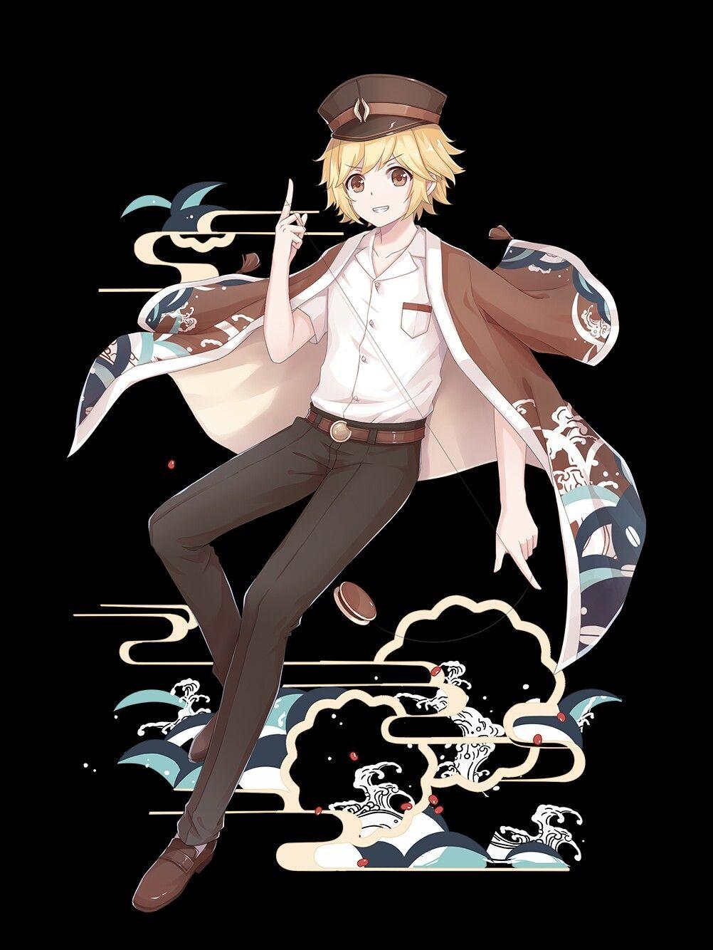 Ascended Dorayaki  Food fantasy, Anime, Anime boy