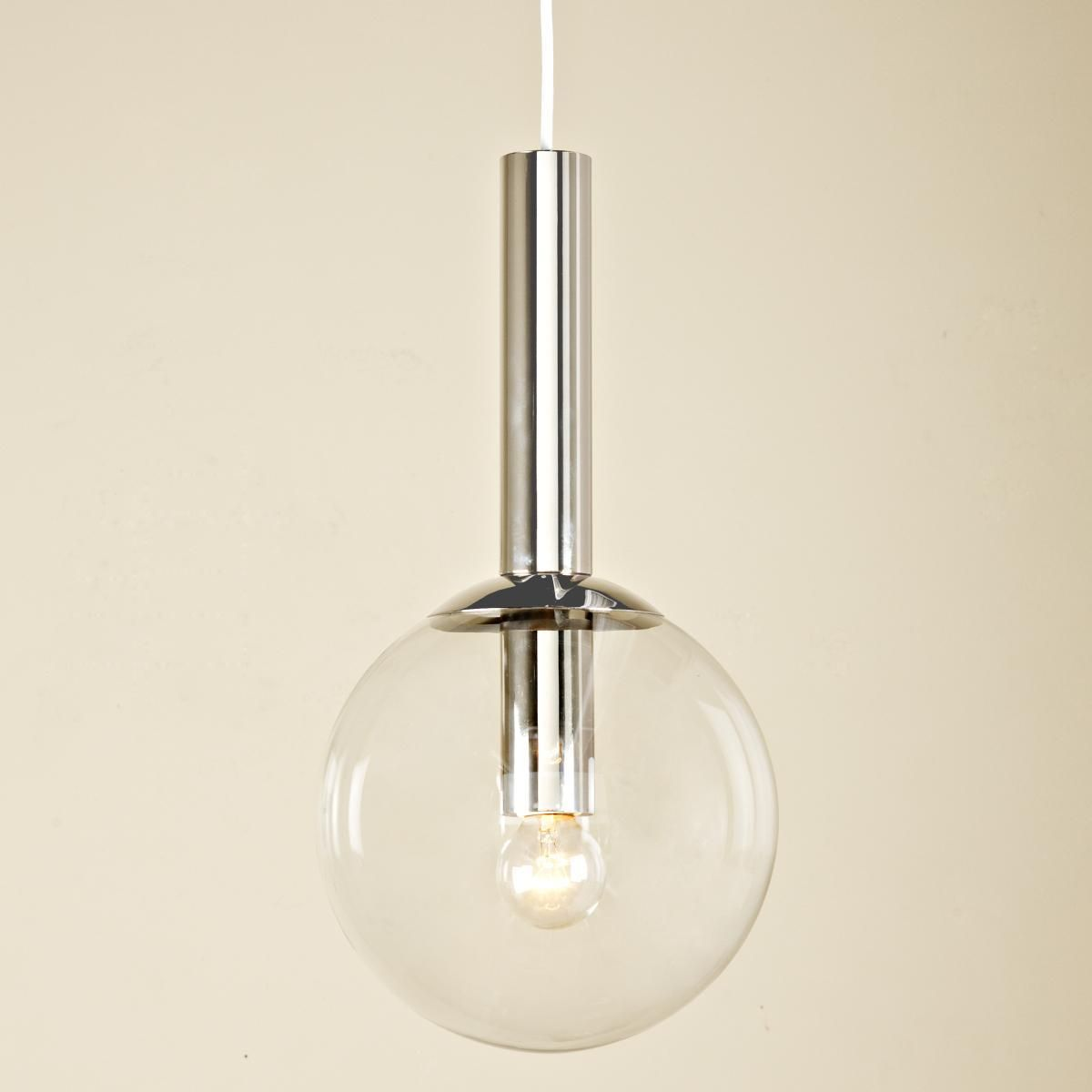 Kitchen Pendant Lighting Glass Clear Seeded Glass Globe Pendant Globe Pendant Lights