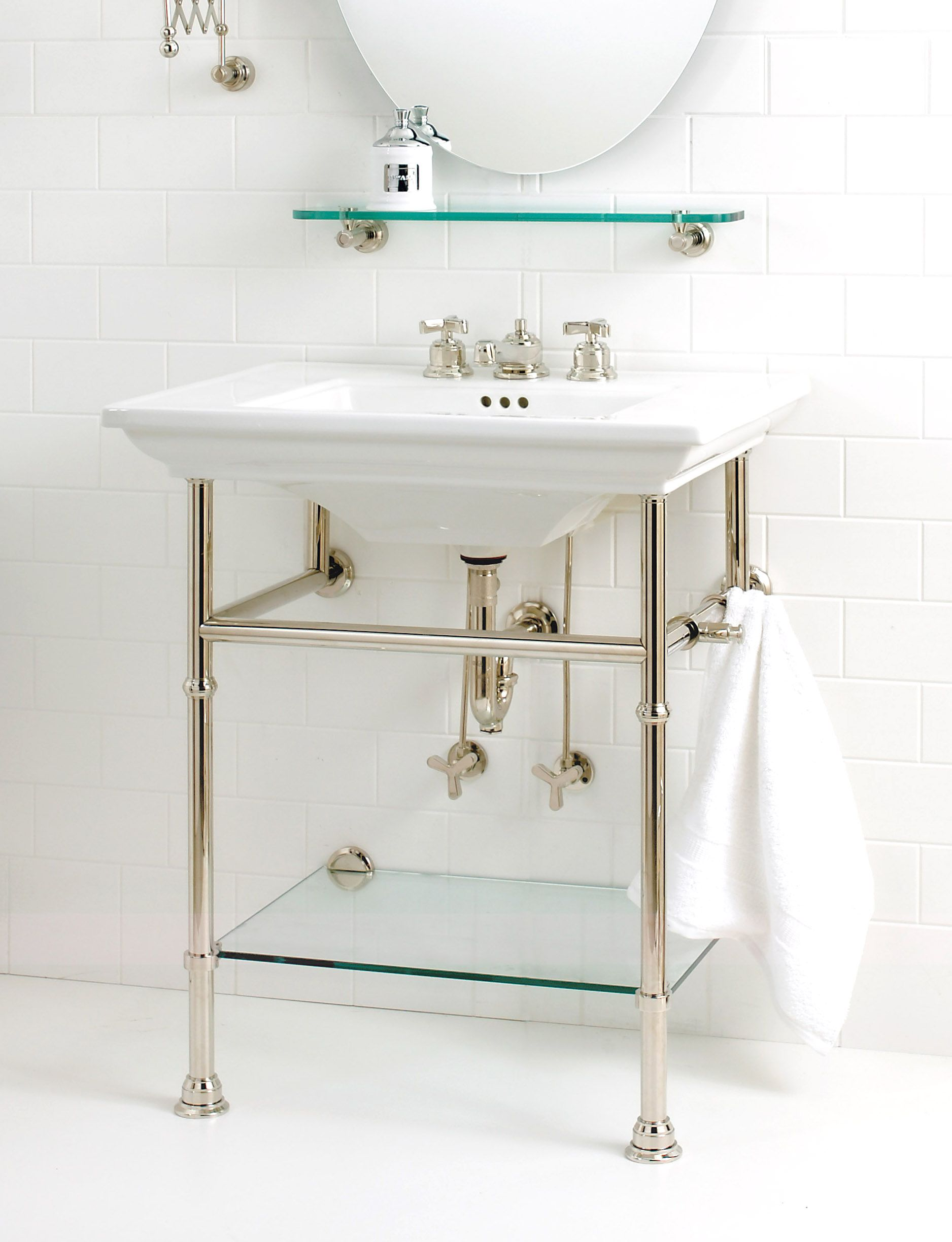 Watermark bathroom accessories - Bath Console By Watermark Designs