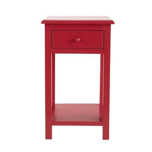 Nachttisch Rot kinder nachttisch rot coccinelle loulous room room