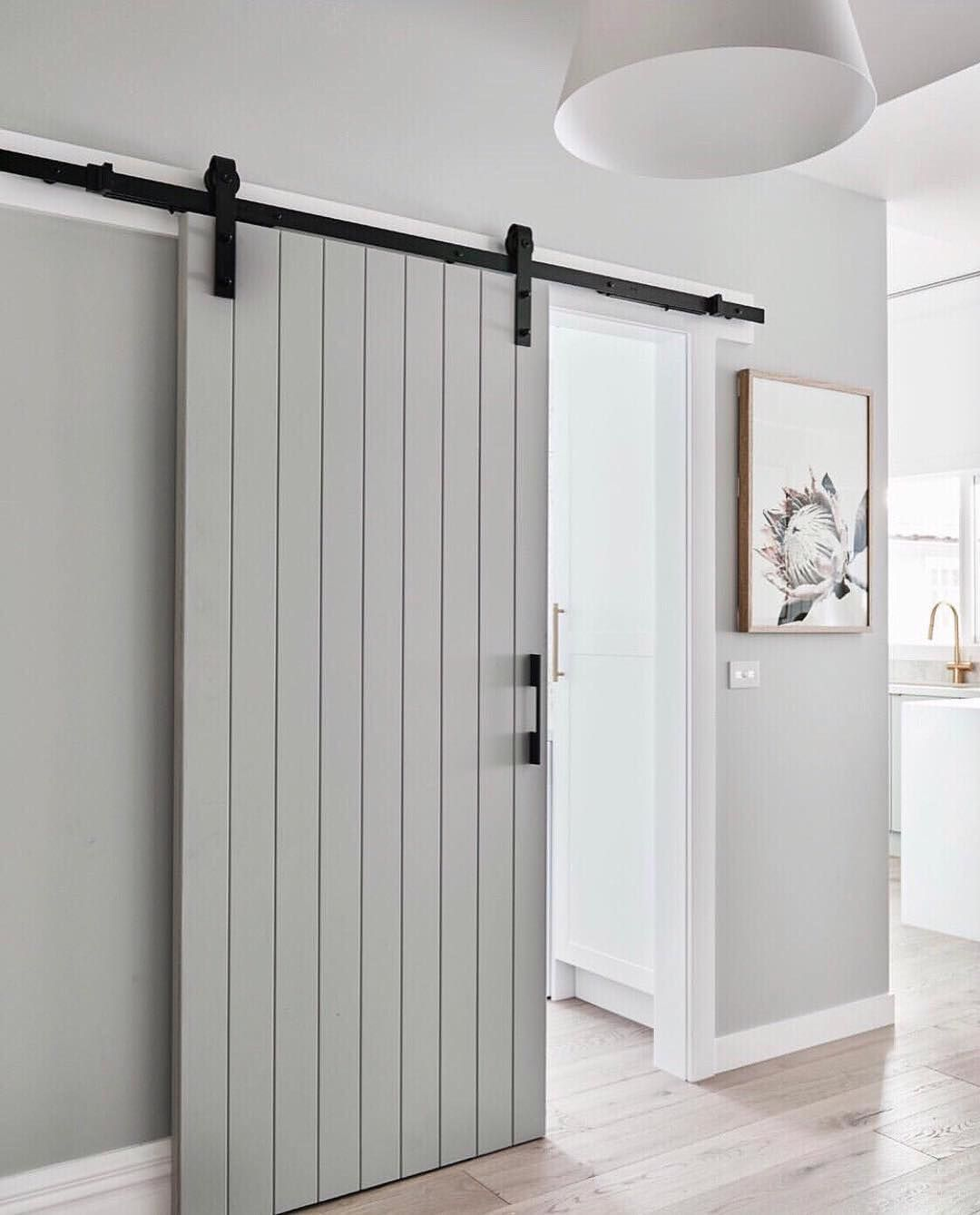 The Little Design Corner On Instagram More Beautiful Barn Door Inspiration For You This Time Coming Fro Modern Barn Door Diy Sliding Barn Door Barn Door Kit