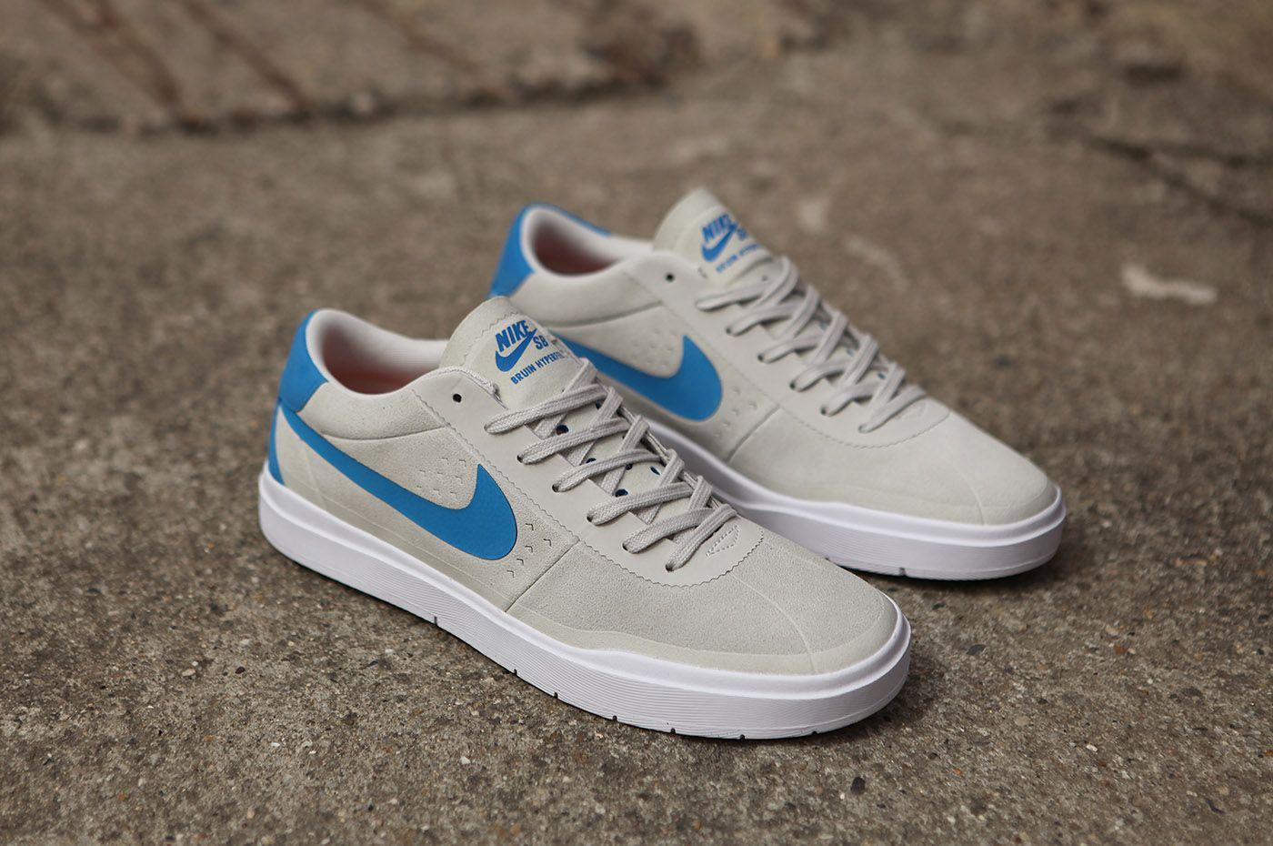 Nike SB Bruin Hyperfeel White Blue http://www.popname.cz/