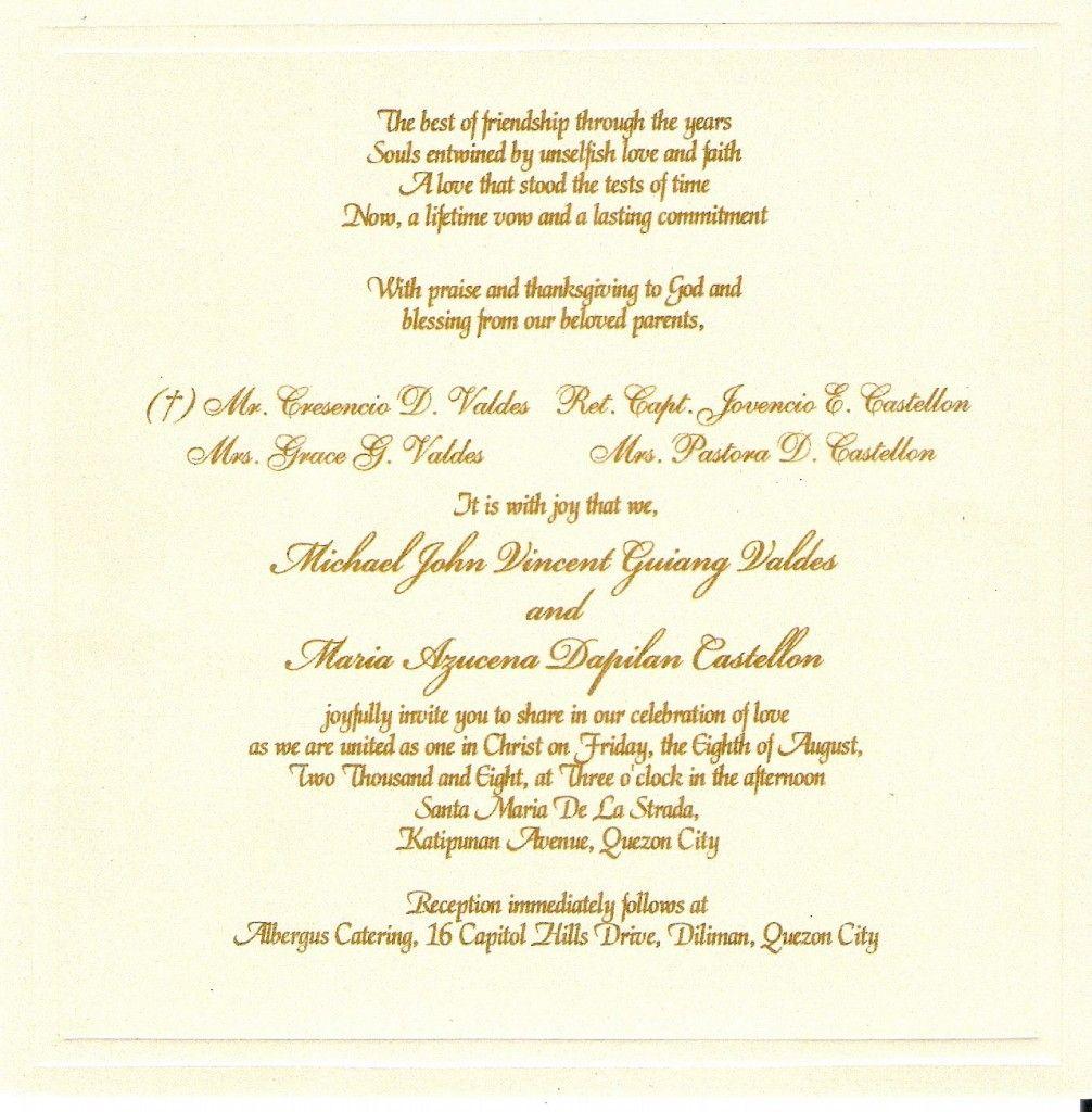 Wedding Invitation Wording Templates Top Selection Of Wedding In Christian Wedding Invitations Wedding Invitation Quotes Wedding Reception Invitation Wording