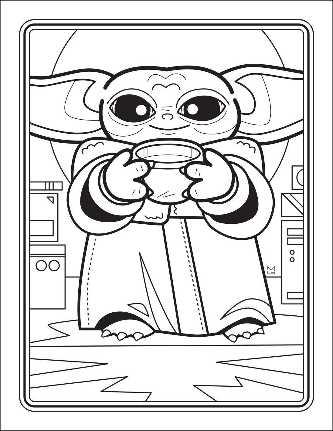 The Unofficial Baby Yoda Coloring Book In 2020 Free Coloring Pages Coloring Books Star Wars Colors