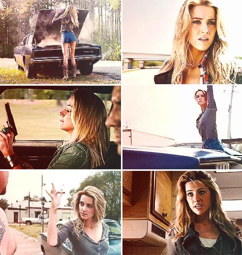 Genderswap: Amber Heard as Deanna Winchester #spn | the family