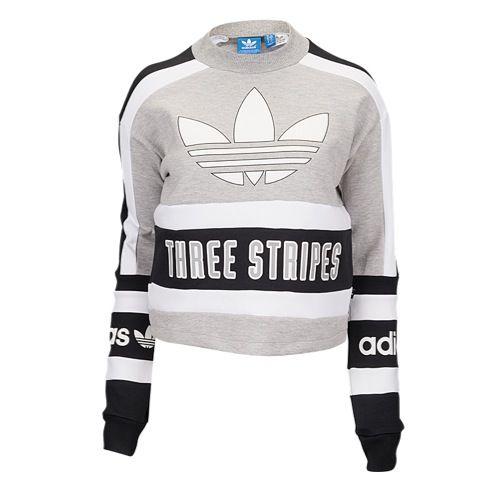 5e6f54d9 adidas Originals Three Stripes Sweatshirt - Women's at Foot Locker ...