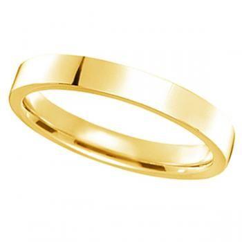 Women/'s Wedding Band 2.5mm Gold Wedding Band Platinum Wedding Band Plain Wedding Band Palladium Band White Gold Wedding Band