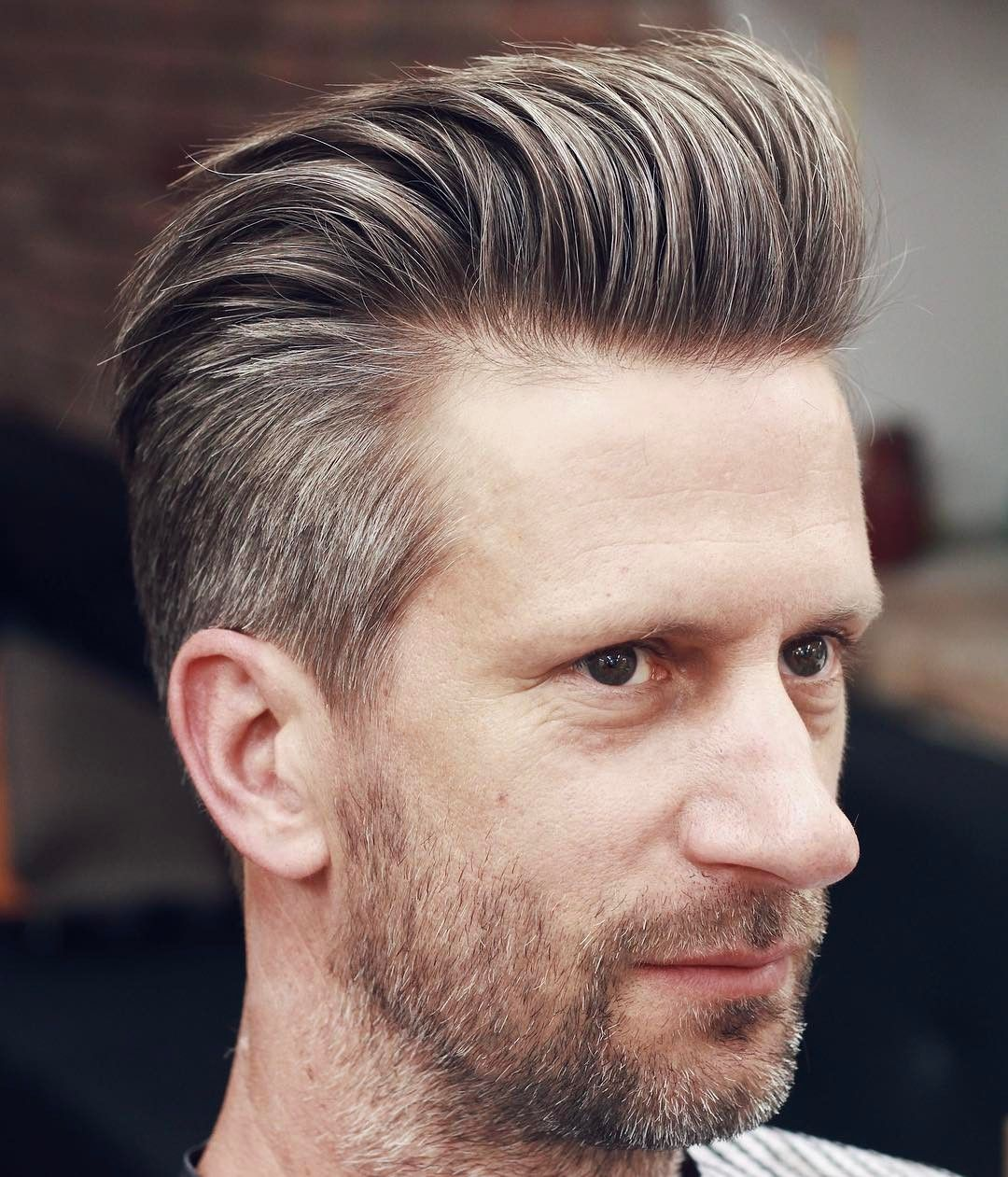 Cool Quiff Hairstyle