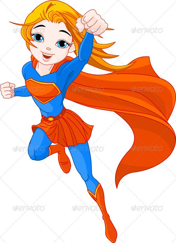 Super Girl | Cartoon, Super girls and Drawings