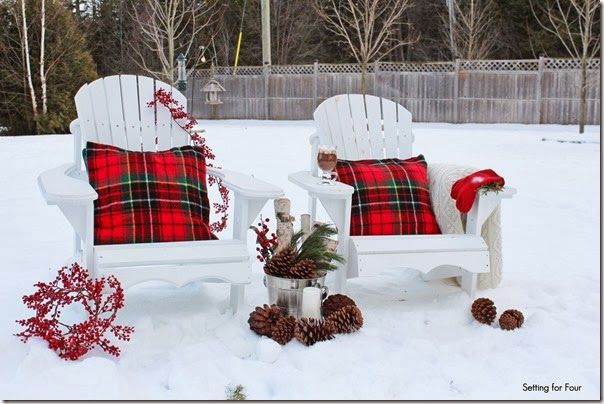 how to make adirondack chairs - Decorating Adirondack Chairs For Christmas