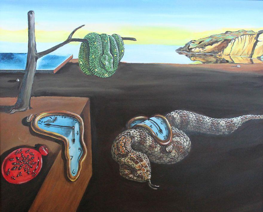 Top Des serpents dans des tableaux célèbres - http://www.2tout2rien.fr  YD77