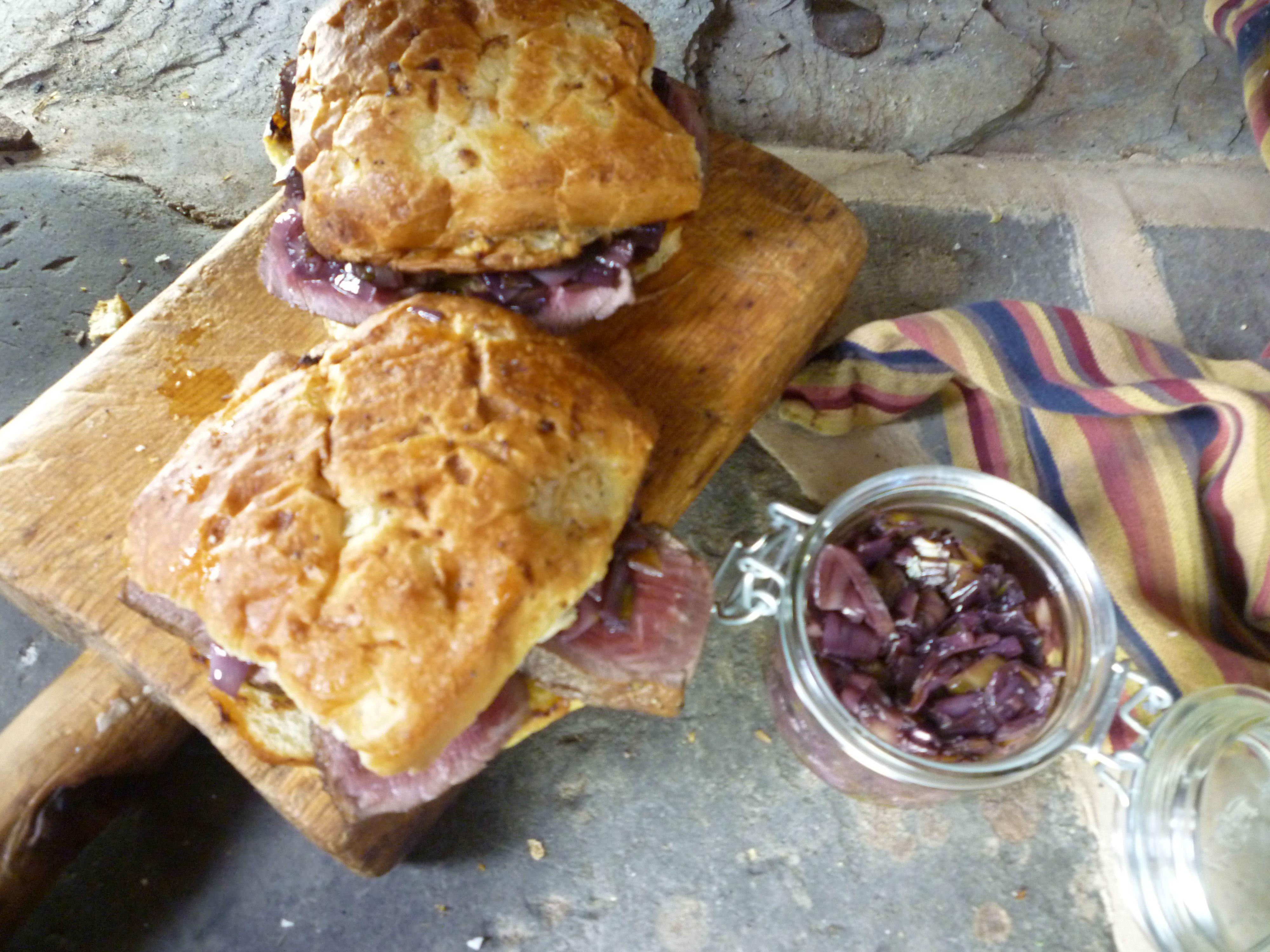 Filet Mignon Sandwiches Recipe Food network recipes
