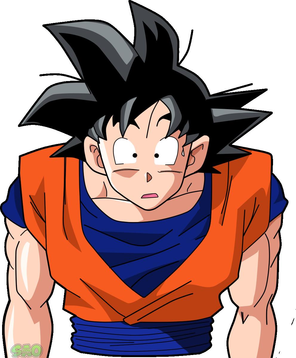 goku y su expresiva cara  Bola de drac  Pinterest  Goku and