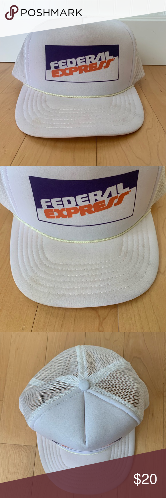 Vintage Federal Express Hat Vintage Federal Express 90s