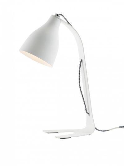 PIX - Lampe De Bureau H. 44 Cm Blanc