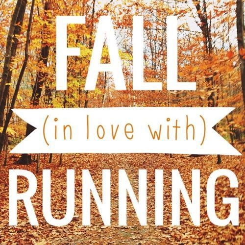 First day of fall! Best running season of the year. #runners ...