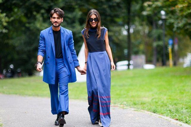 Фото парень с девушкой в платье