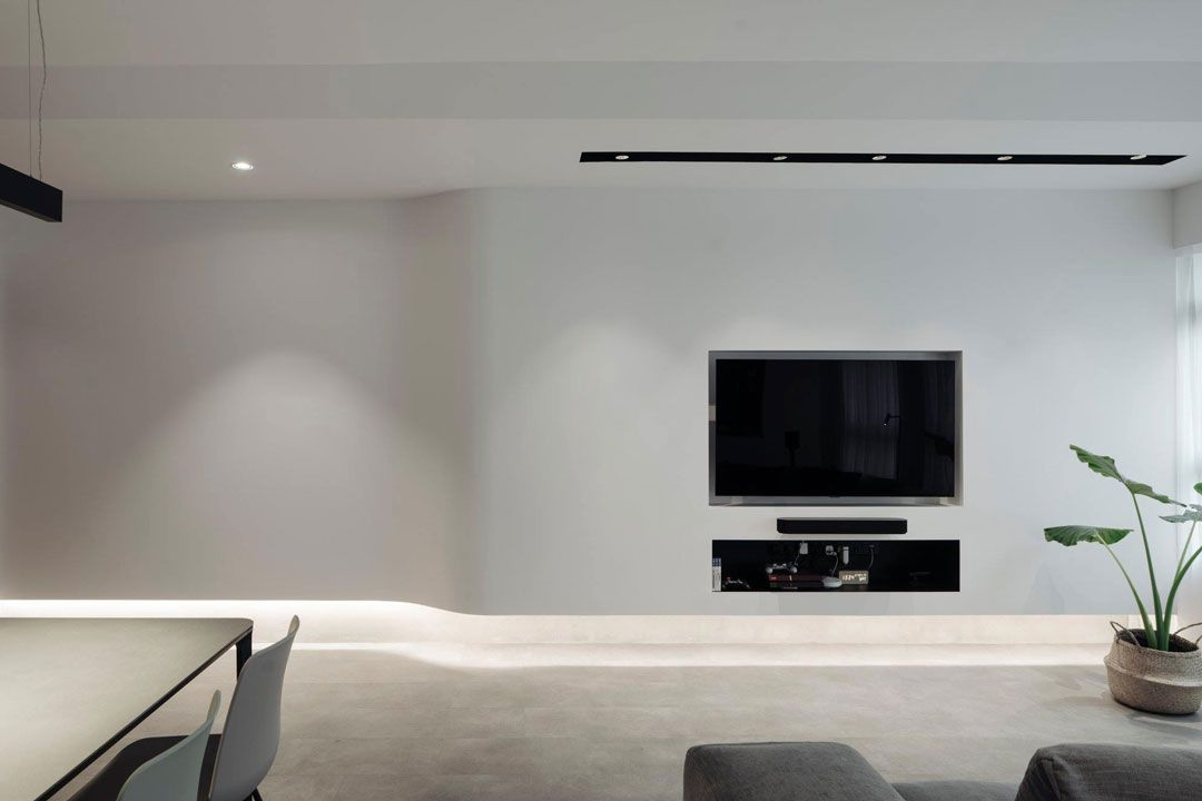 10 Practical TV Feature Wall Designs in Singapore that Look Really Good Too -  10 Practical TV Feature Wall Designs in Singapore that Look Really Good Too  - #designs #Feature #good #PRACTICAL #Singapore #tvwalldesign #Wall