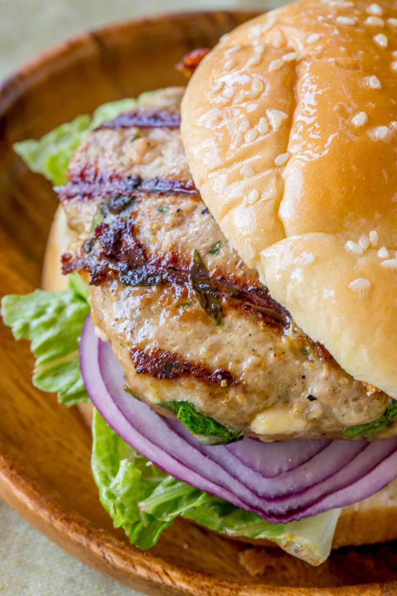 Greek Turkey Burgers Cooking Made Healthy Recipe Greek Turkey Burgers Turkey Burgers Turkey Feta Burgers