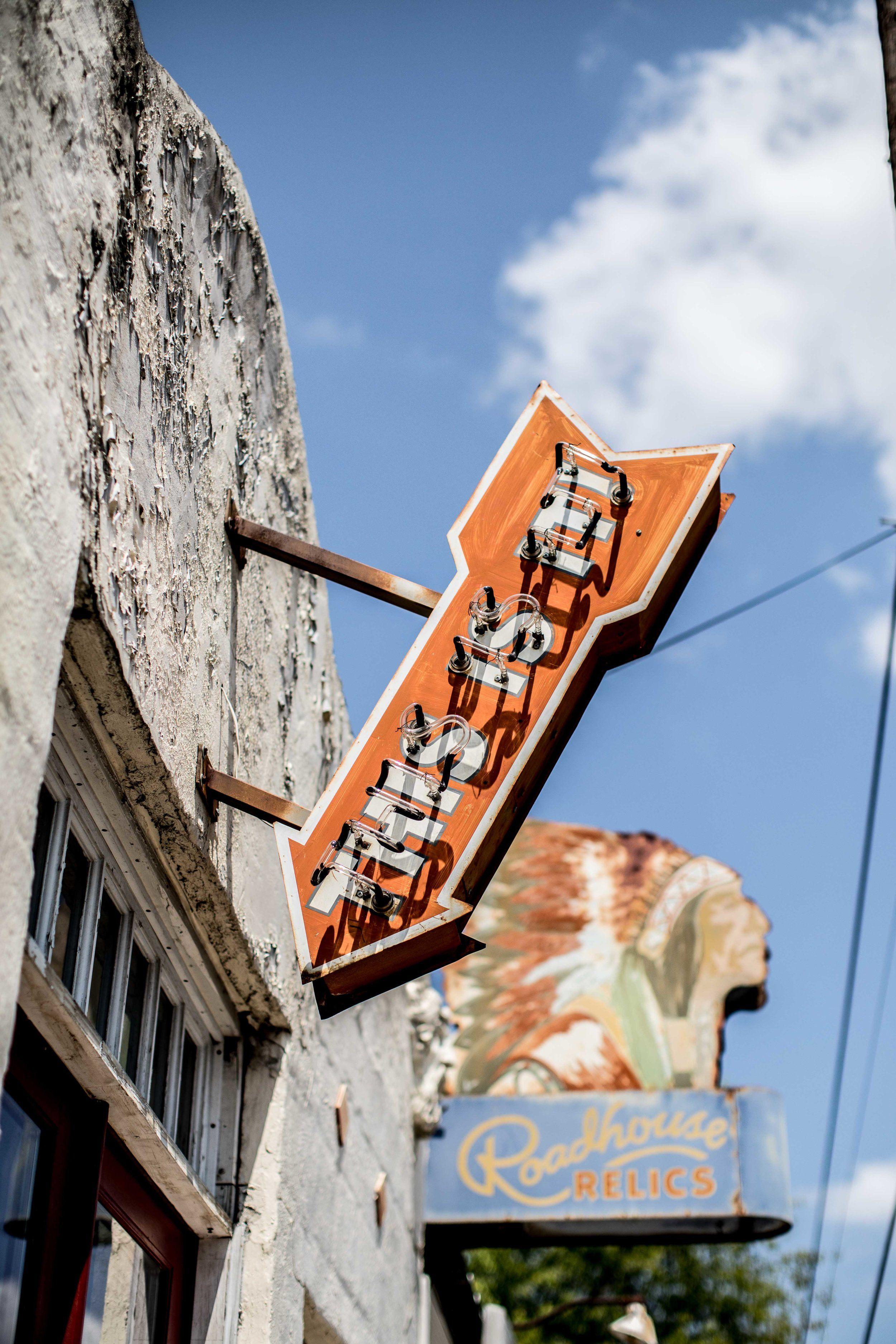 Austin Texas Mikayla Neon: This Is It Neon Sign, Austin, Texas
