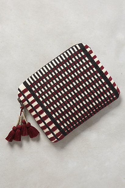Adela Pouch #anthropologie