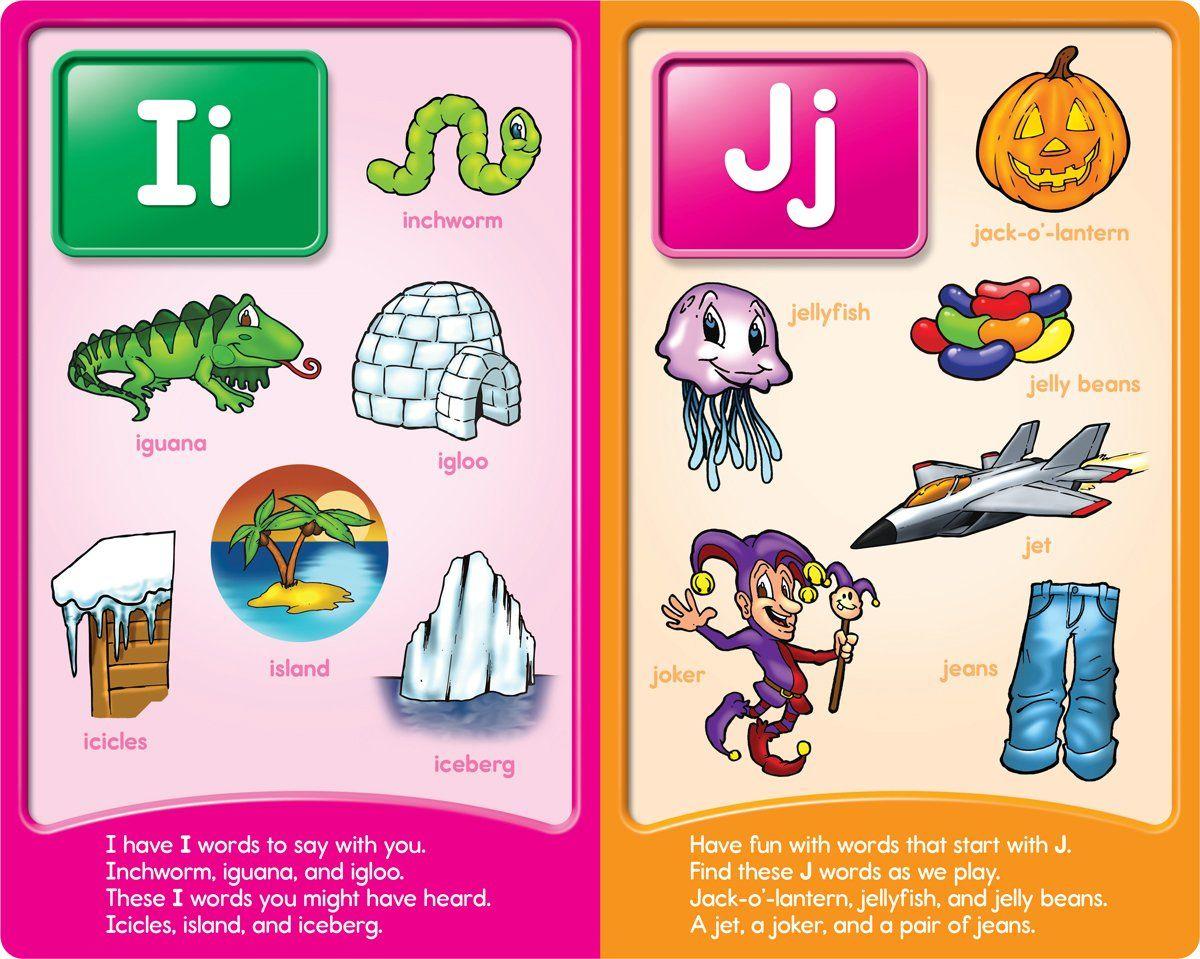 Image result for words for alphabets I | alphabets | Pinterest