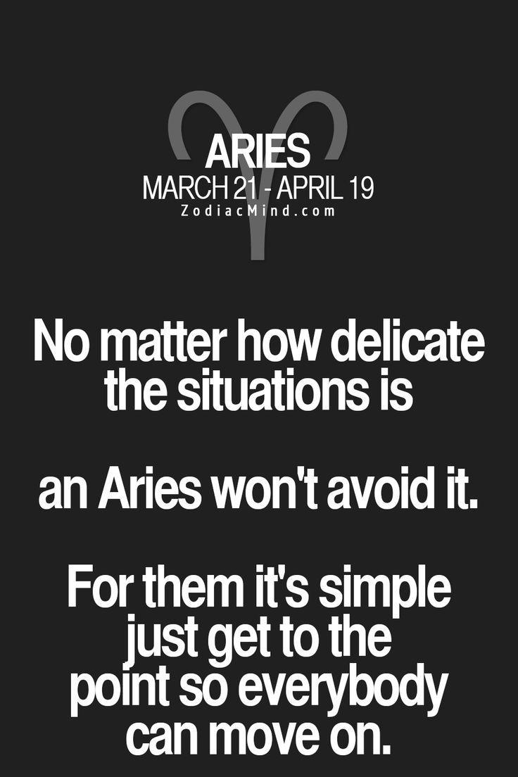 Fun facts about your sign here Aries zodiac facts