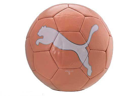 Puma Pink and White Big Cat II Soccer Ball | SoccerMaster.com