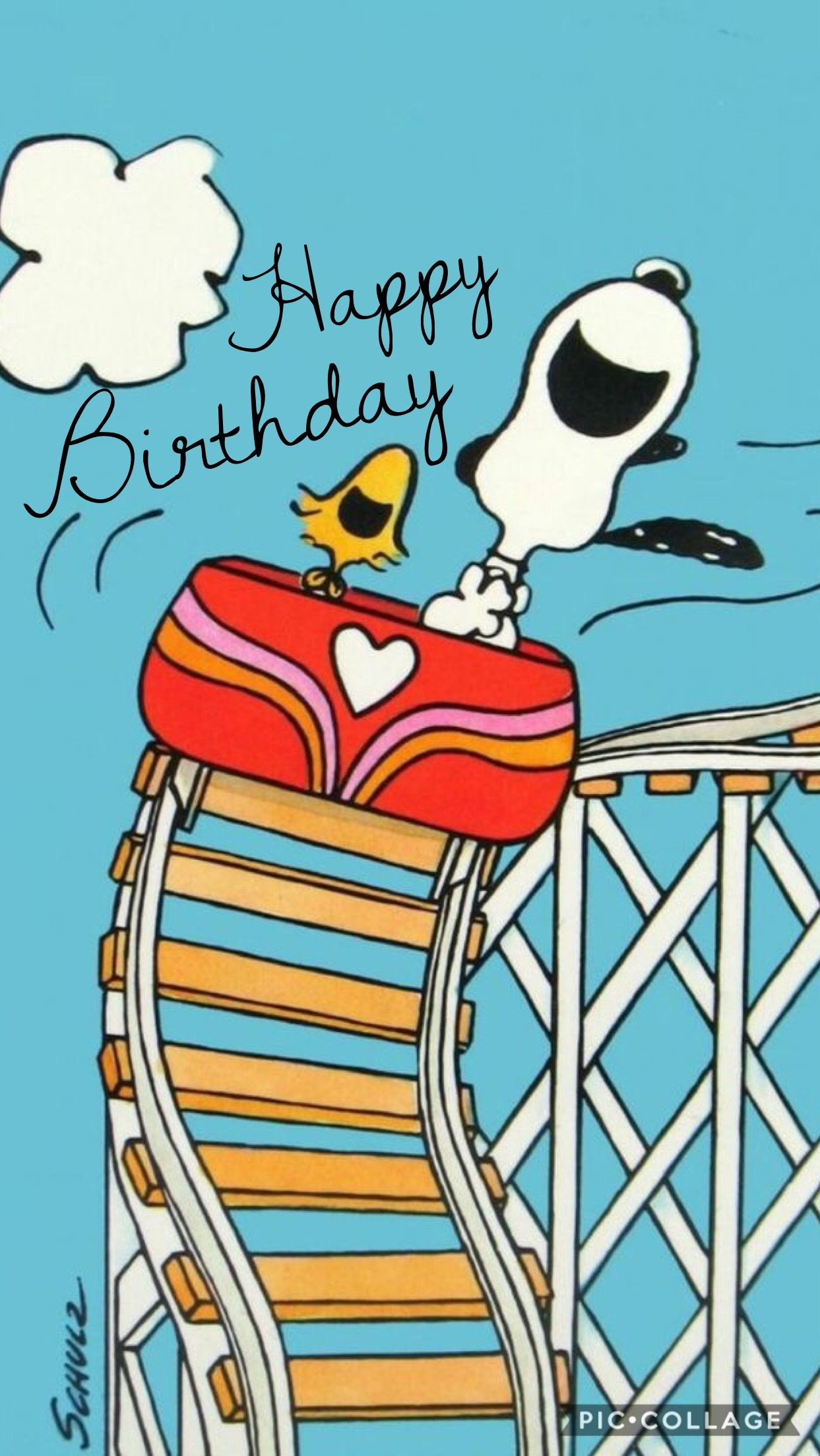 snoopy and woodstock birthday wishes birthday