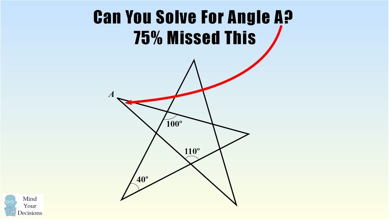 Can You Solve This 8th Grade Geometry Problem? 75% Got The Wrong ...