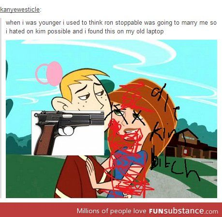 kim possible ron and start dating