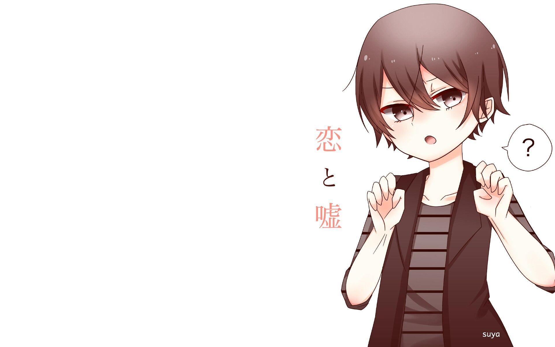 Koi To Uso Yuusuke Nisaka Anime Wallpaper Hd Cute Nya Cat Gus Hand If Cat Style Food Angry Boy Cuteeee Meaw Anime Cute Anime Character Koi