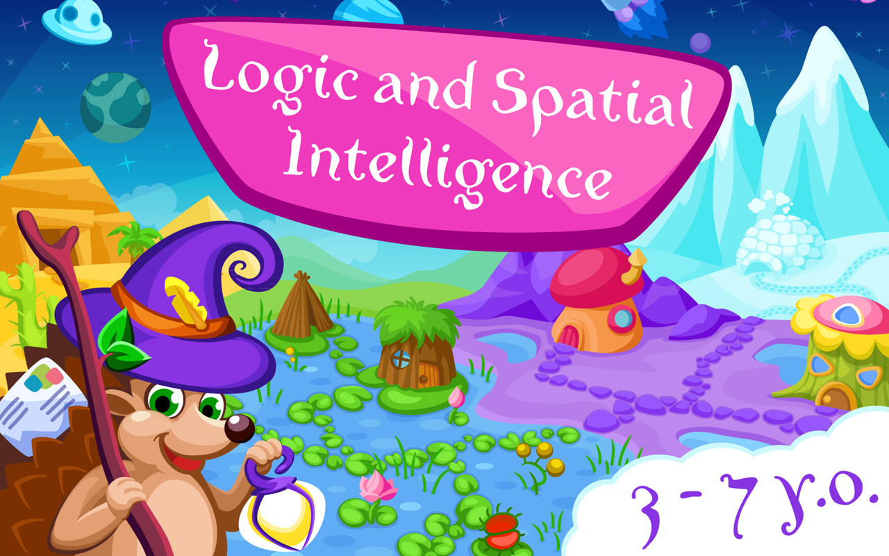 Logic for kids 37 years old (best educational Android