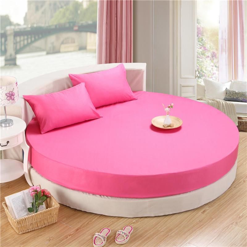 3pcs Circular Round Bed Fitted Sheet 100 Cotton Bed Sheets With