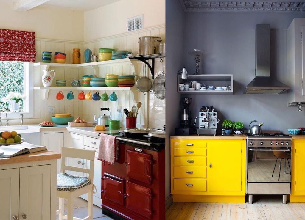 Küchenschrank Farben Für Kleine Küchen - Was ist die gemeinsame