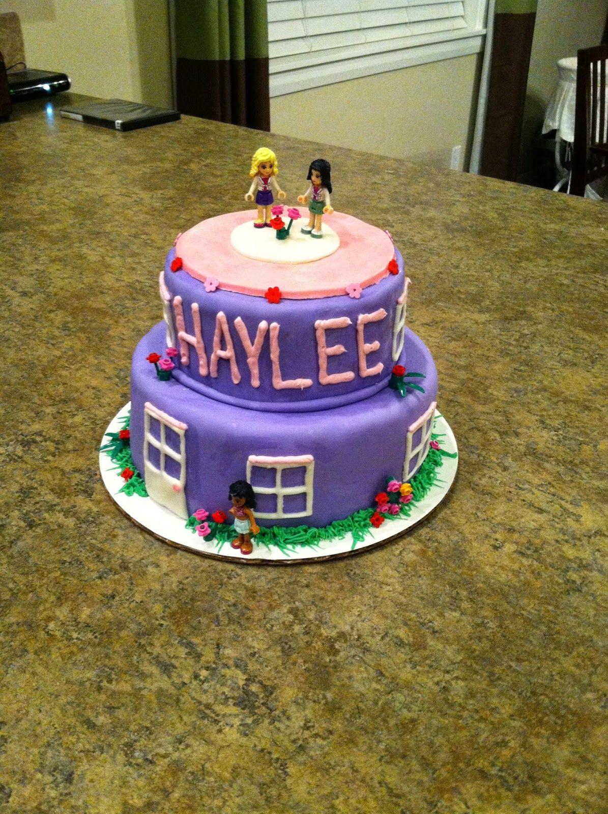 Lego Friends Cake Fondant 8 Years Old Lego Friends