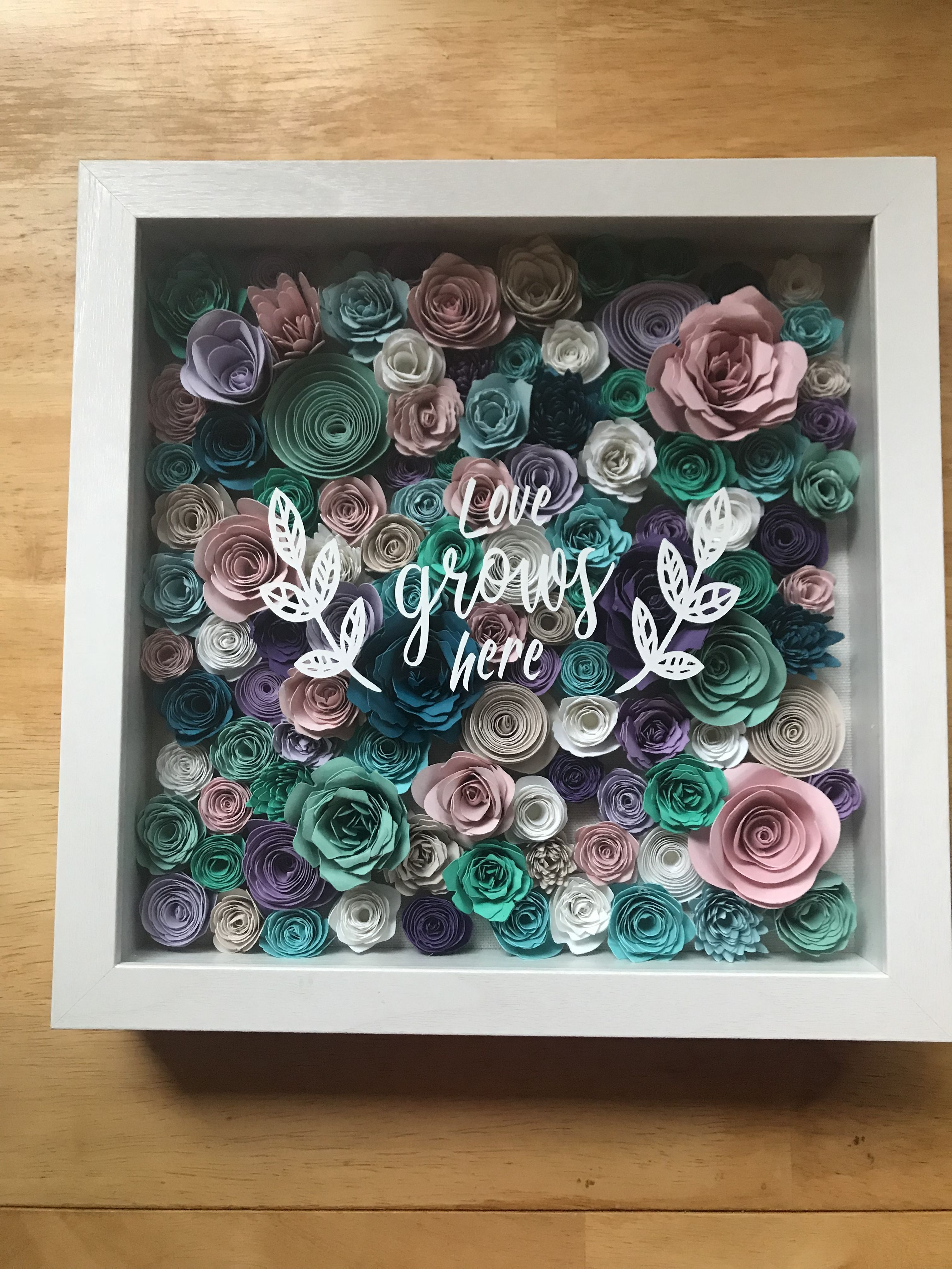 Make a DIY Paper Flower Wall Backdrop with your Cricut