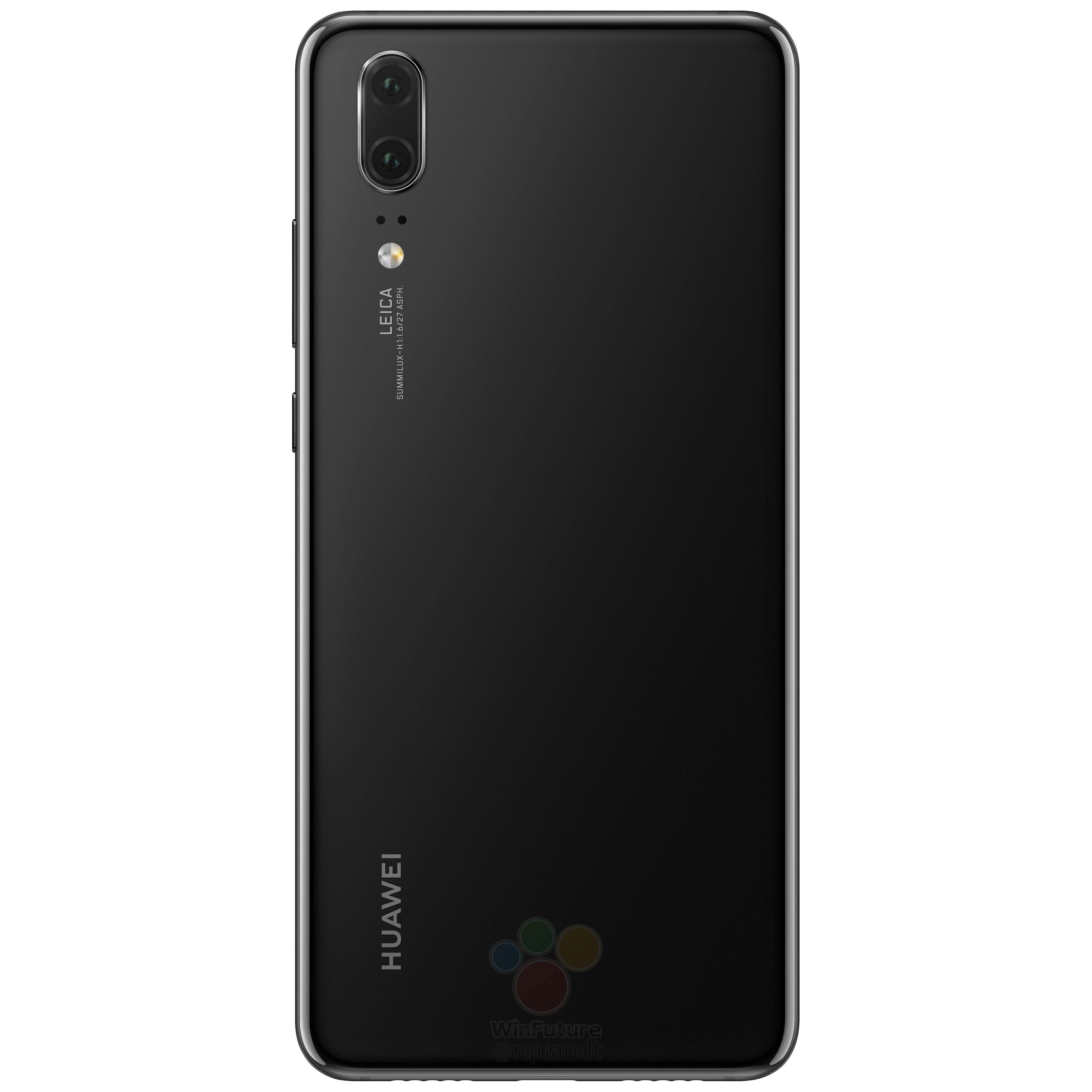 Läcka kring Huawei P20 högupplösta bilder på trion