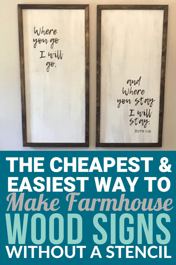 And Easy Diy Farmhouse Wood Signs