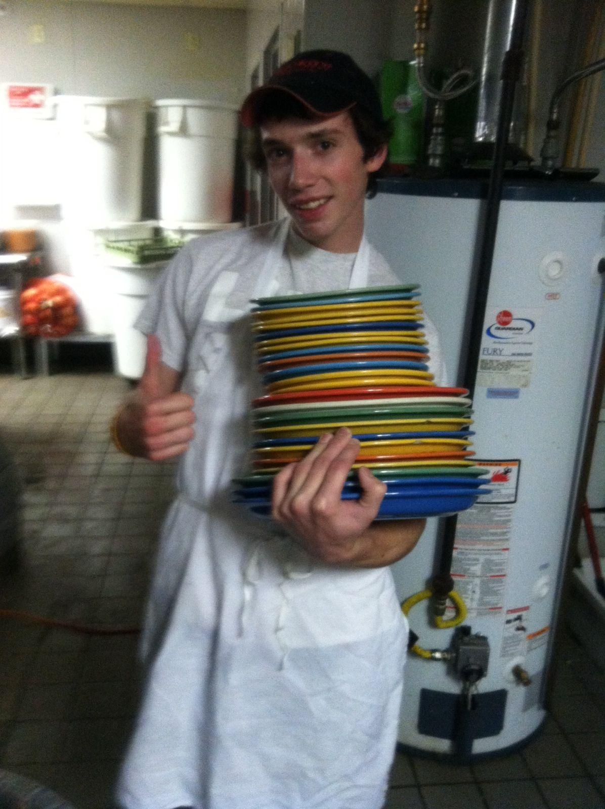 Those plates do weigh quite a bit