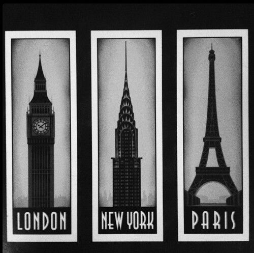 The three cities I love