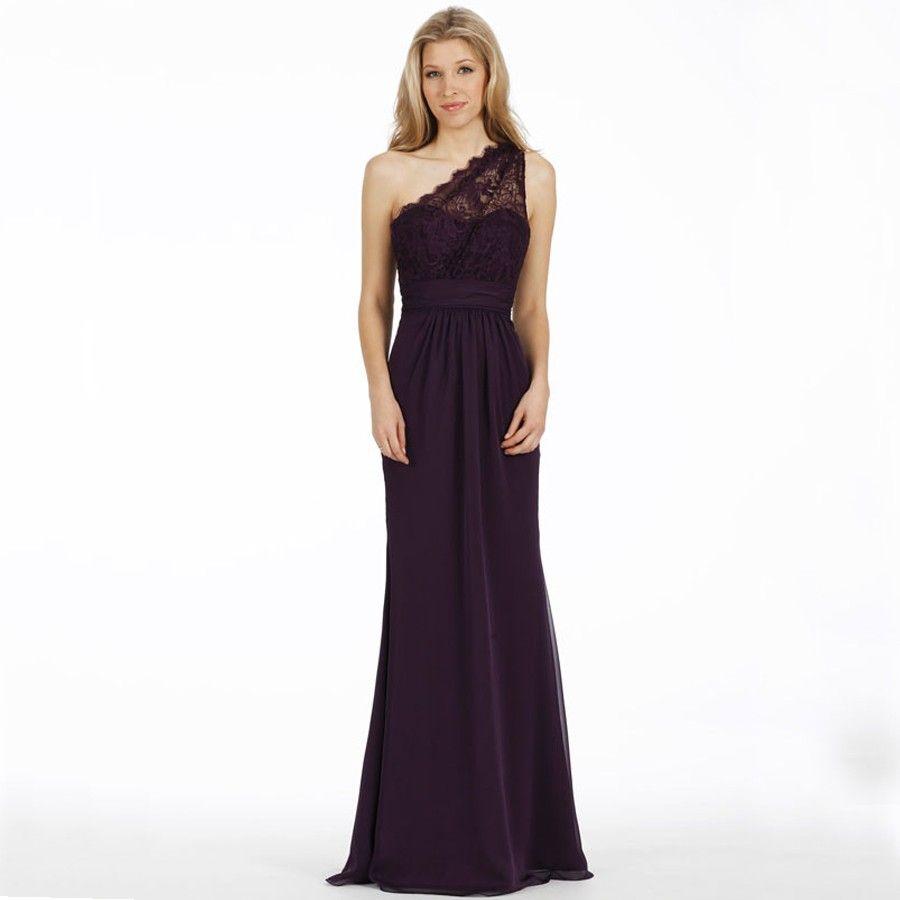 chiffon sweetheart one shoulder floor length dress