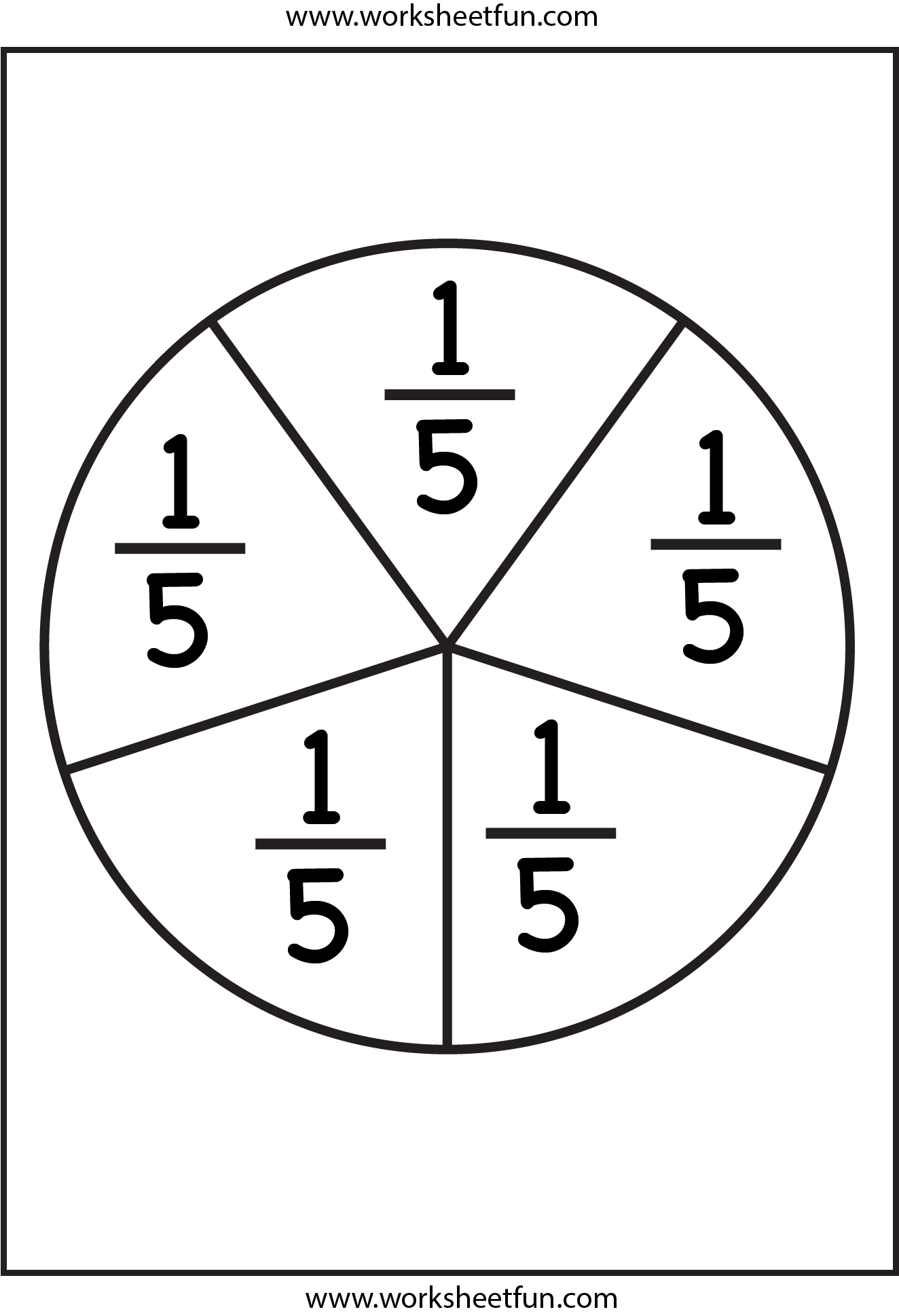 fraction circles | fractions | pinterest | fractions, worksheets and