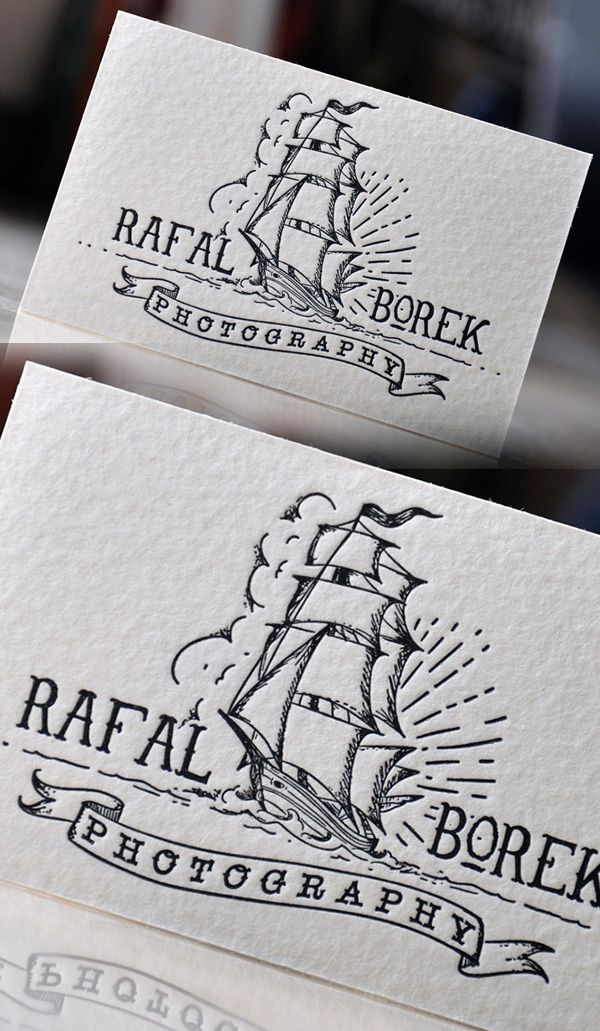 Creative letterpress photography business card graphic design creative letterpress photography business card reheart Image collections