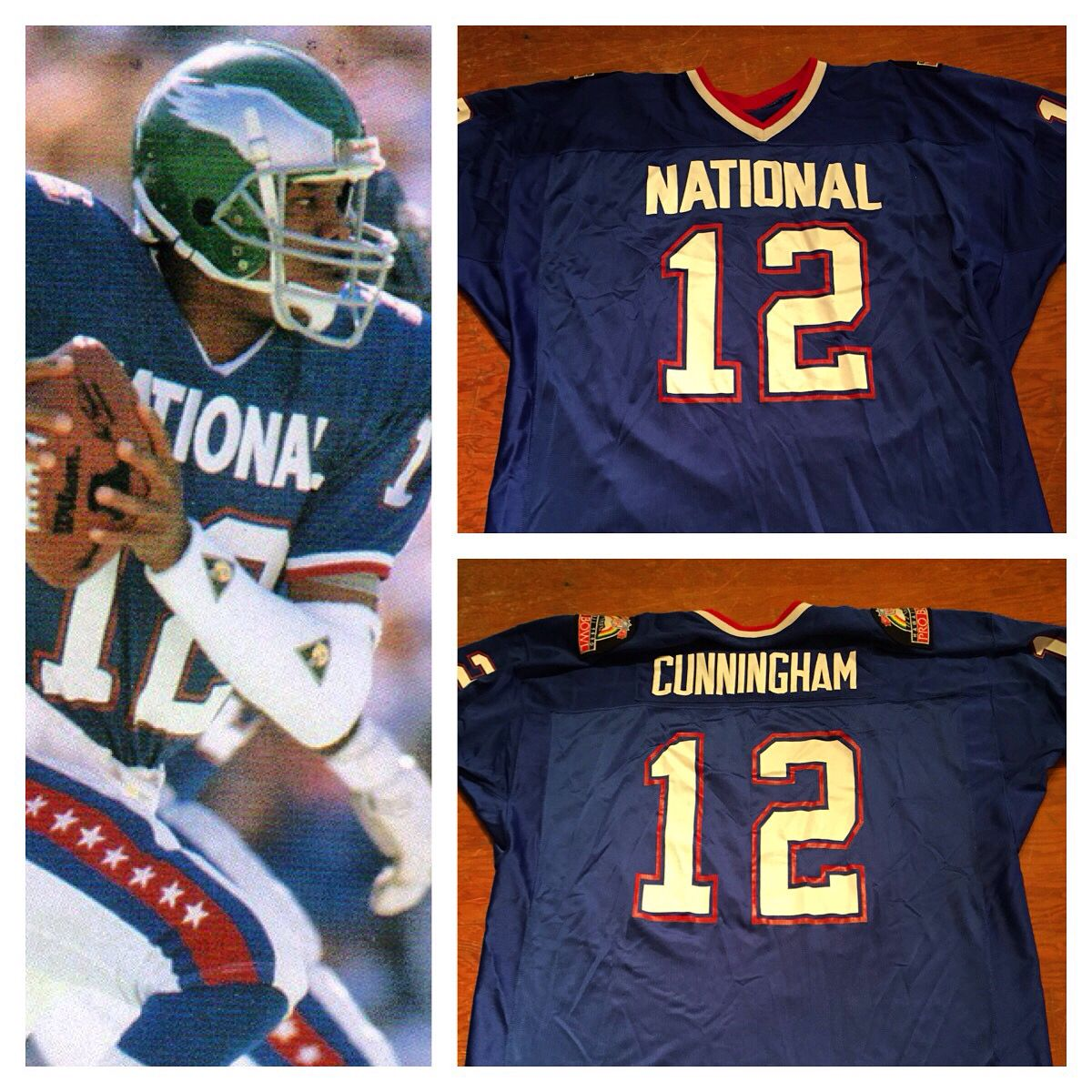 ...  vintage 1990 pro bowl  mitchellandness jersey  ultimateweapon  bcbc.  Find this Pin and more on Philadelphia Eagles by Bucks County Baseball Co. 7335821aa
