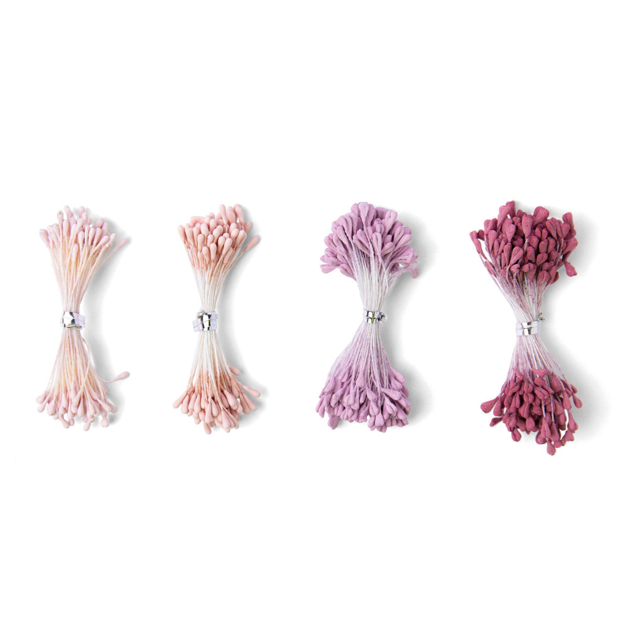 Sizzix Making Essential - Flower Stamens, Pink/Purple, Assorted ...