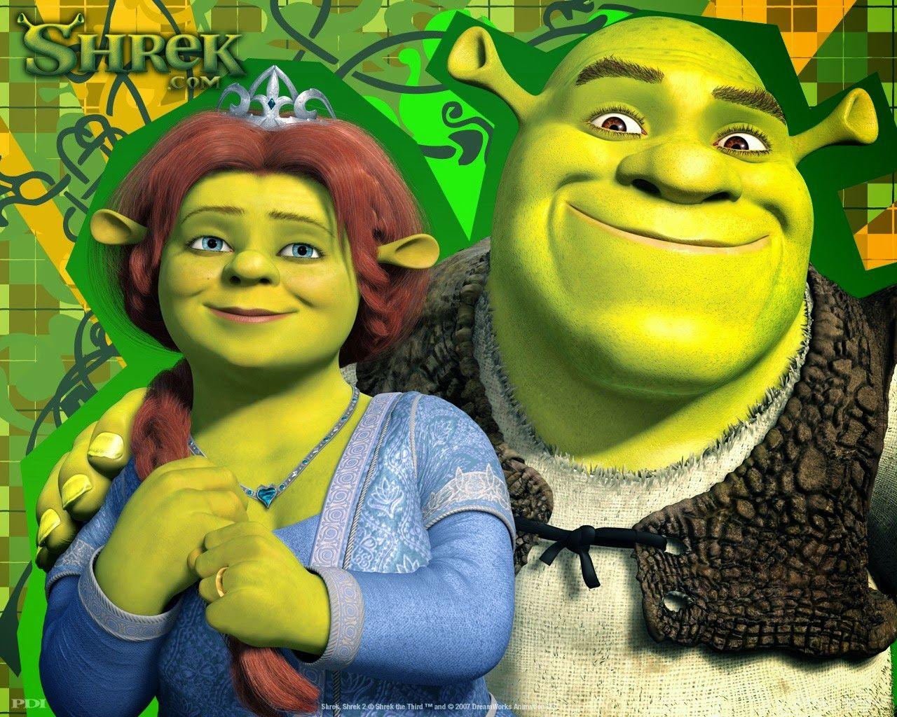 Love Wallpapers Sherk Sherk Shrek Fiona Costume